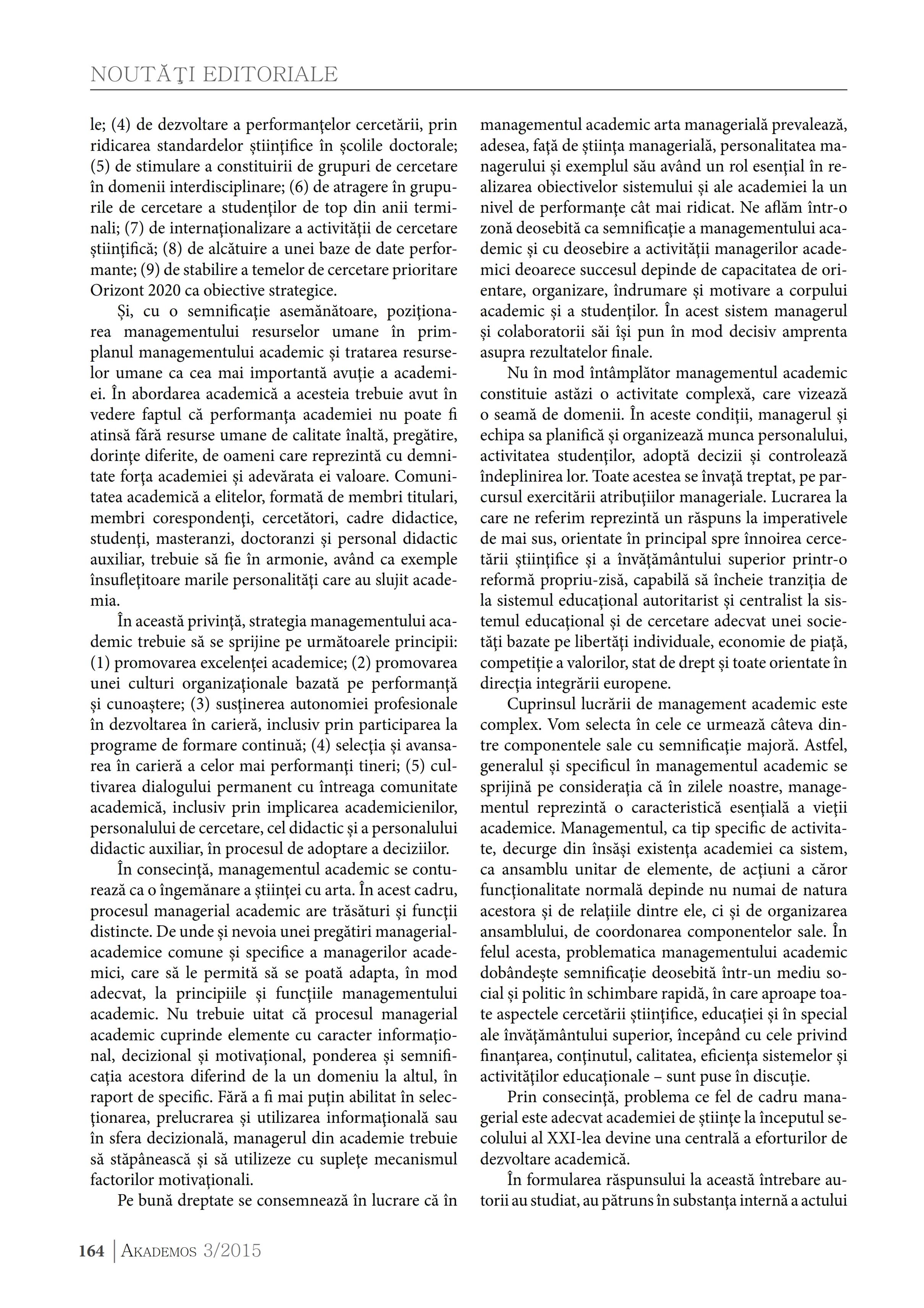 Managementul academic in folosul academismului, didacticii si cercetarii stiinţifice_002